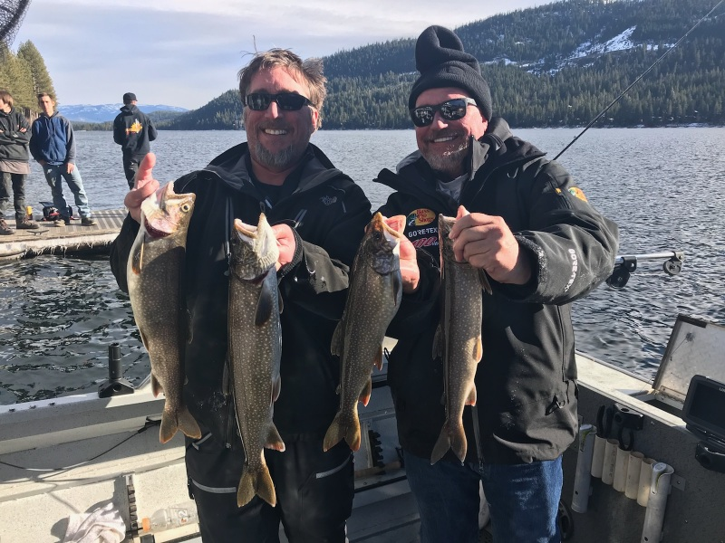 Donner lake fishing report 12-29-17