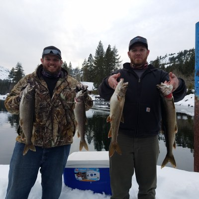 Donner lake fishing report 3-19-18