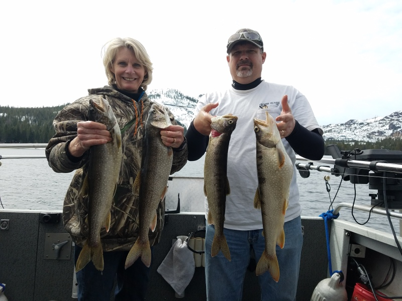 Donner lake fishing report 04-04-18