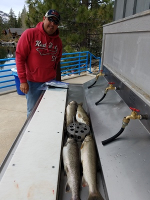 Donner lake fishing report 5-5-18