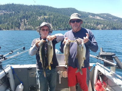 Donner lake fishing report 5-8-18