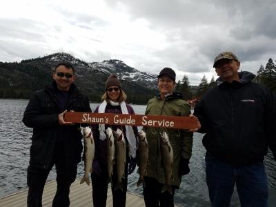 Donner lake fishing report 5-12-18