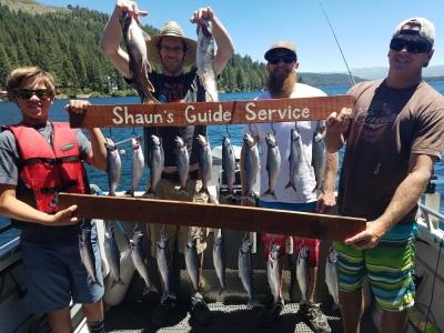 Donner lake fishing report 6-20-18