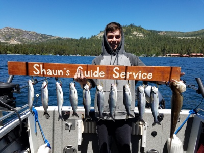 Donner lake fishing report 6-24-18