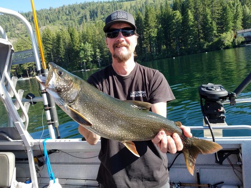 Donner lake fishing report 7-14-18