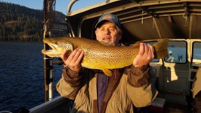 Donner lake fishing report 8-22-18