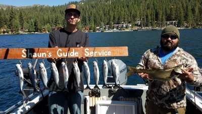 Donner lake fishing report 8-28-18