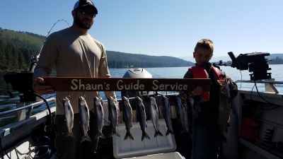 Donner lake fishing report 9-2-18