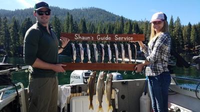 Donner lake fising report 9-7-18