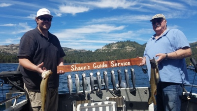 Donner lake fishing report 9-8-18
