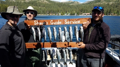 Donner lake fishing report 9-14-18