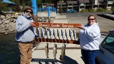Donner lake fishing report 9-19-18