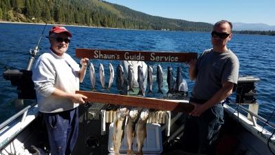 Donner lake fishing report 9-21-18