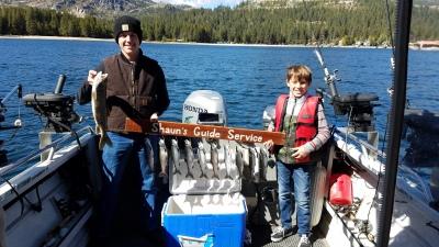 Donner lake fish report 10-5-18
