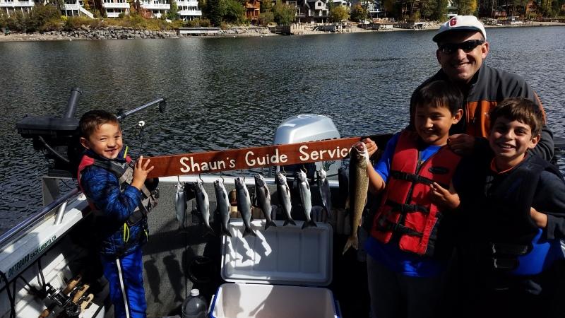 Donner lake fish report 10-6-18