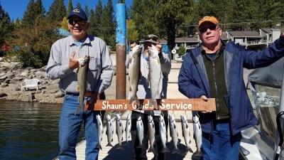 Donner lake fish report 10-13-18