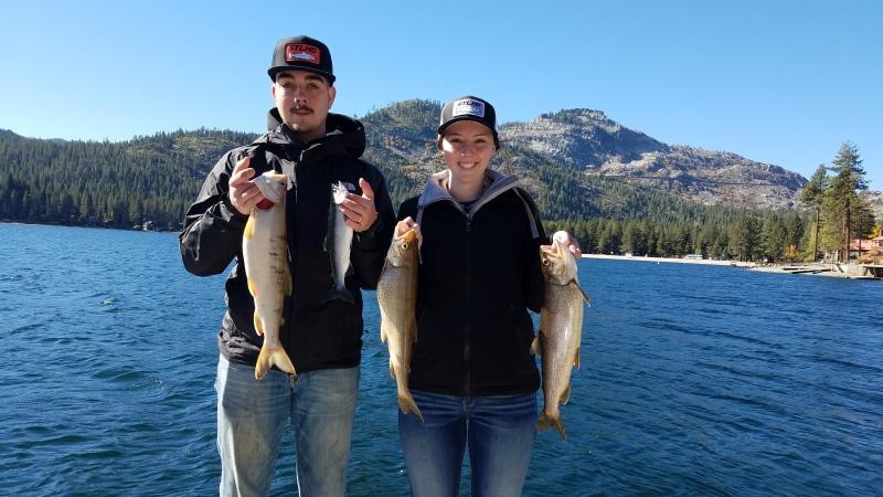 Donner lake fish report