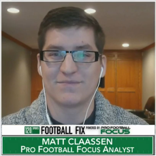 What did Matt Claassen from PFF say about Tyrod Taylor?