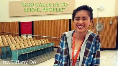 God calls us to Serve, people!