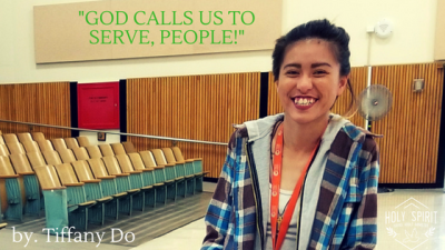 God calls us to Serve, people!