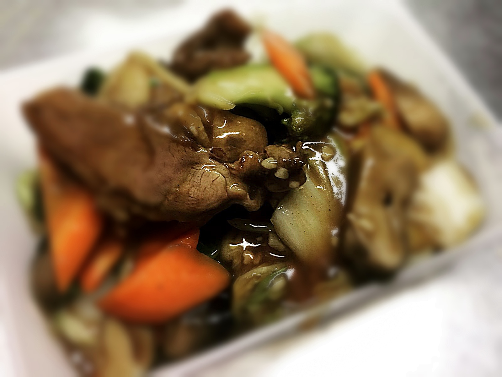 Duck in Oyster Sauce