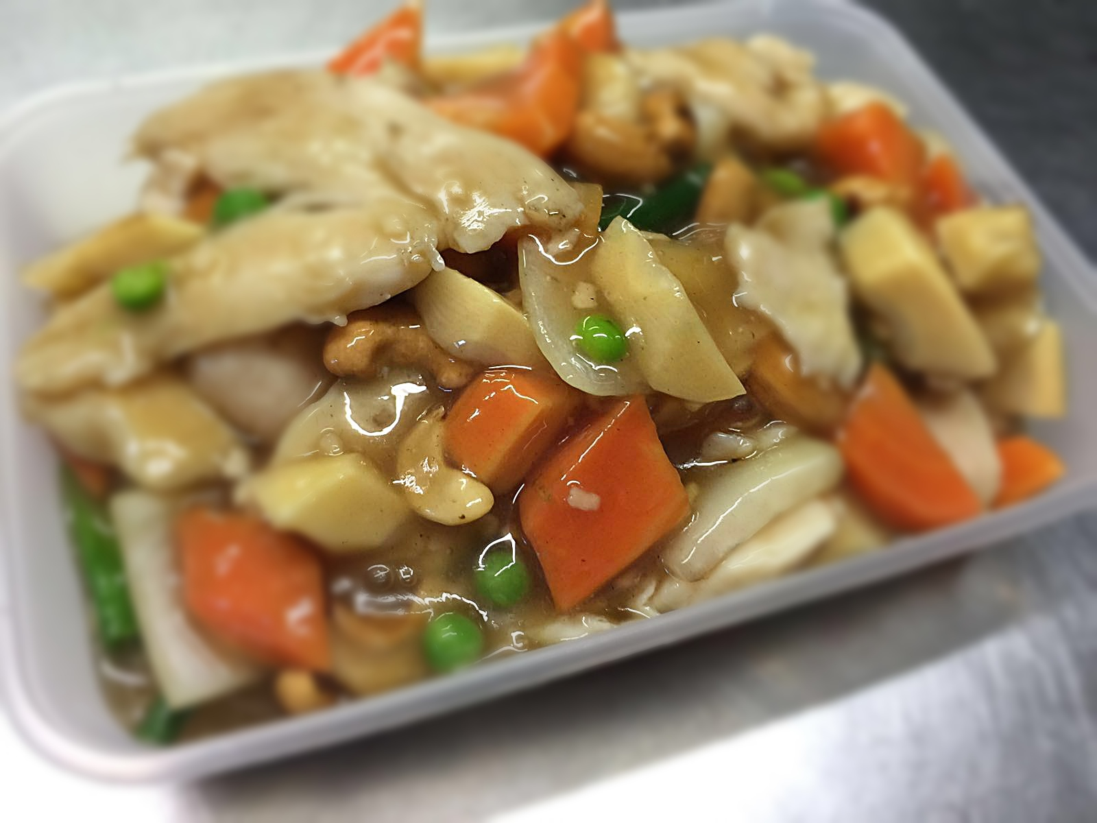 Chicken & Cashew Nuts