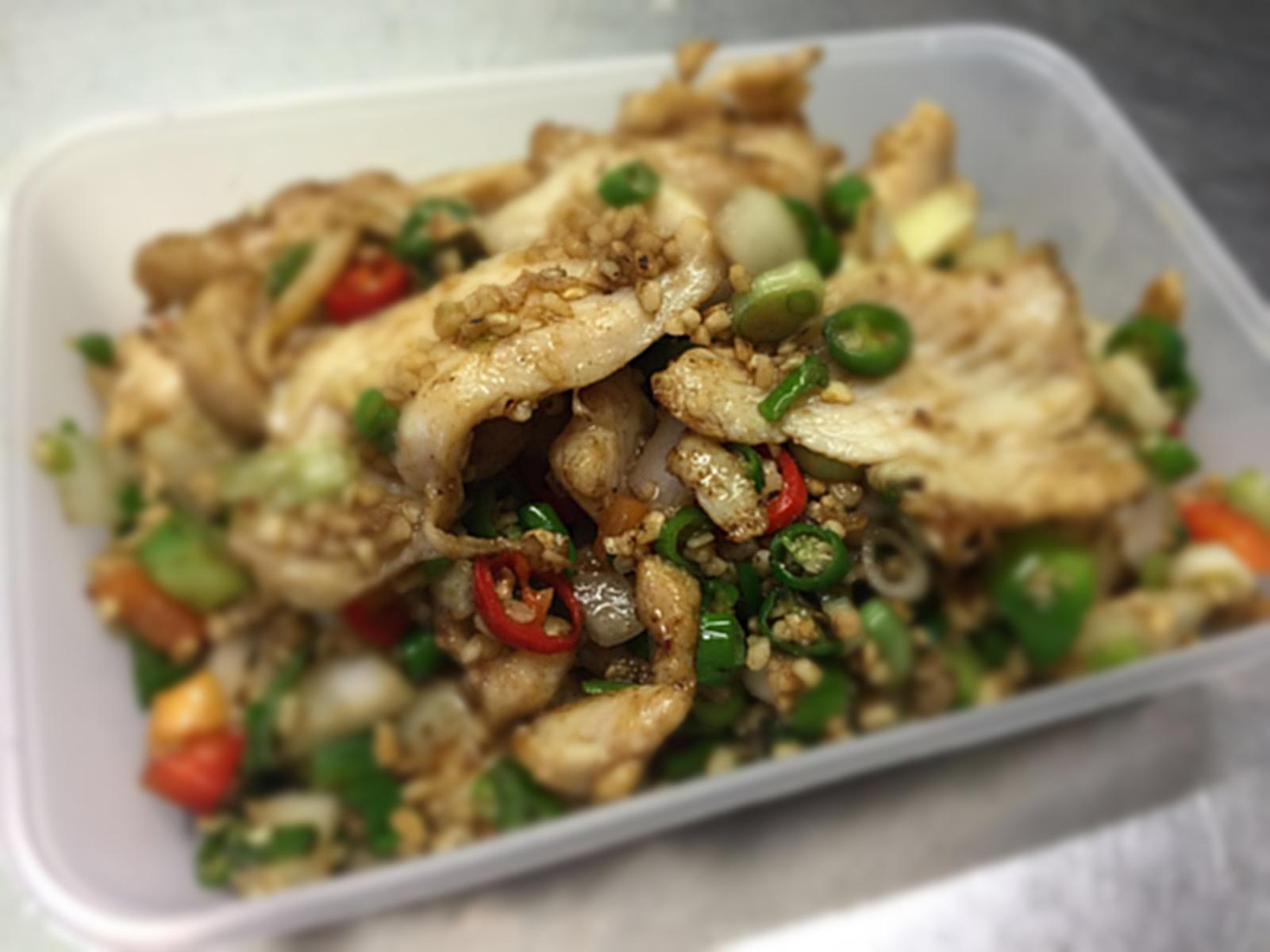 Salt & Pepper Soft Chicken