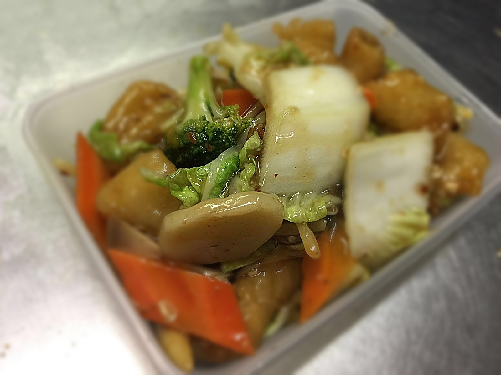 Fish & Mixed Vegetables