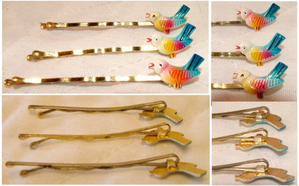 Bobby Pins, Bird bobby pins, Hair clips, hair pins, beauty supplies, hair styling