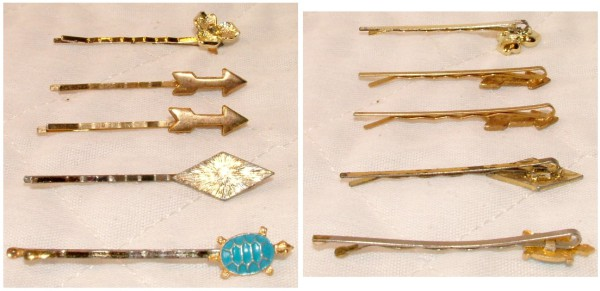 Gold bobby pins, Gold hair pins, hair clips, beauty supplies, hair styling