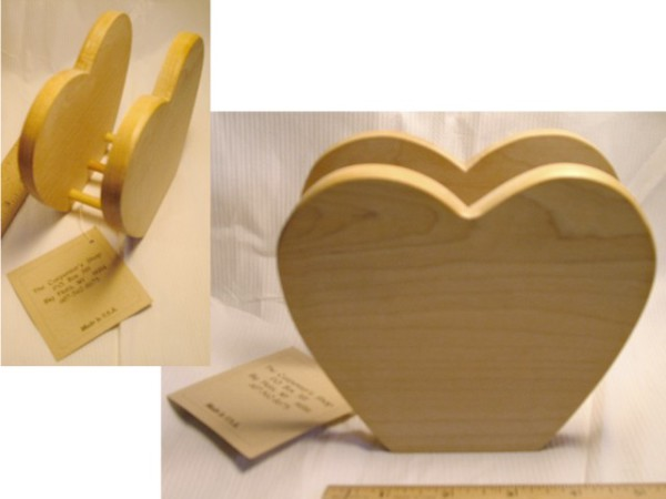 Wooden Napkin Holder, wooden crafts, Dining room accessories, rustic napkin holder, heart shaped napkin holder,