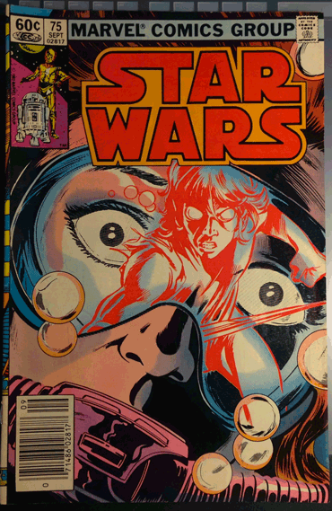 Star Wars, Comics, 1983, Marvel Group, Star Wars Vol. 1, No 75, September 1983