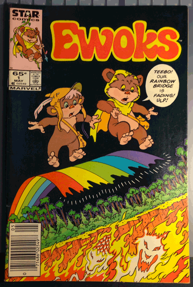 Star Wars, Ewoks, 1985, Star Comics, The Ewoks, Vol. 1, No. 1, May 1985
