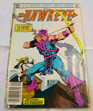 Hawkeye, Comics, Marvel Comics Limited Series, Hawkeye Vol 1, No. 1 September 1983