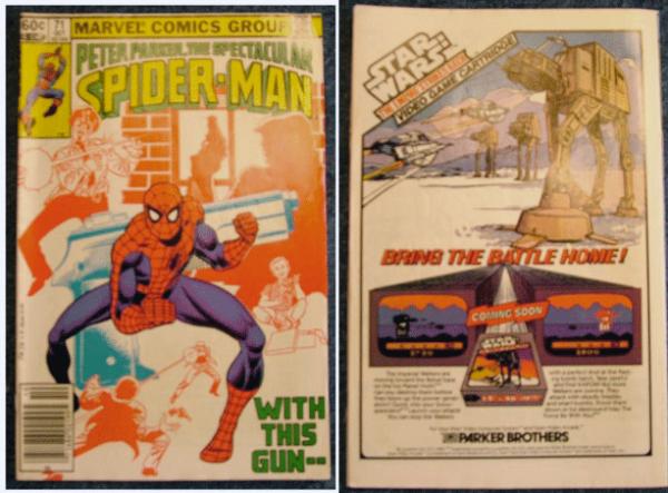 1982, Peter Parker, Spider Man, Marvel Comics, Peter Parker, The Spectacular Spider-man Vol 1, No. 71 October 1982