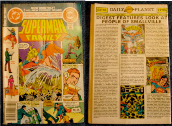 Superman, Jimmy Olsen, Lois Lane, Superman, The Superman Family Vol. 28, No. 209, August 1981, DC Comics Inc.,