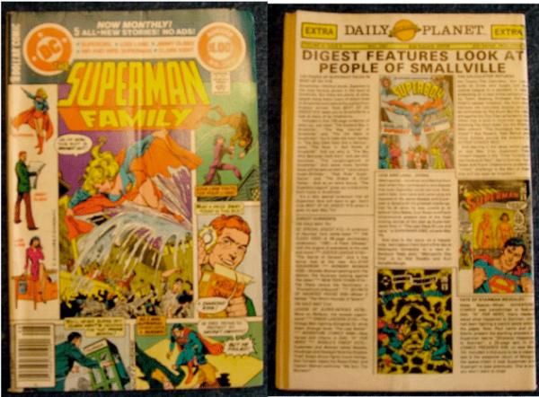 Superman, Jimmy Olsen, Lois Lane, Superman, The Superman Family Vol. 28, No. 209, August 1981, DC Comics Inc.,