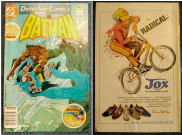1981, Batman, Batgirl, Detective Comics Vol. 45, No. 505, August 1981, DC Comics Inc.,