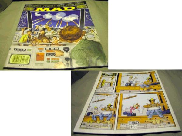 Mad Magazine No. 244, 1984, War Games, Psycho 2, 9 to 5,