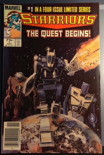 1984 Starriors, Marvel Comics, Starriors Vol. 1, No. 1, Marvel Comics Group, Stan Lee,