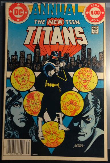 The New Teen Titans Annual, Vol. 2, No. 2, DC Comics Inc., Marv Wolfman