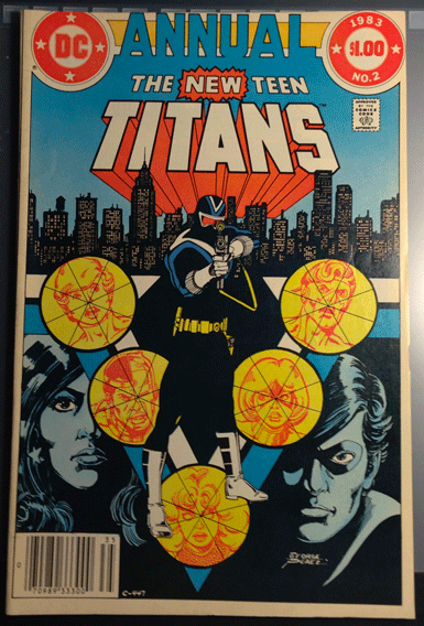 The New Teen Titans Annual, Vol. 2, No. 2, DC Comics Inc., Marv Wolfman