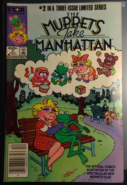 The Muppets Take Manhattan, Vol. 1, No. 2, December 1984, Marvel Comics Group, Stan Kay