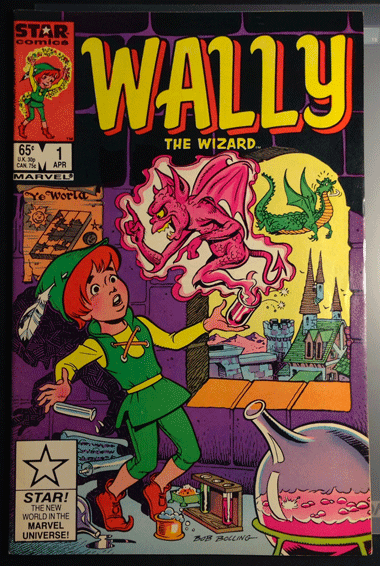 Wally the Wizard, Vol.1, No. 1, April 1985, Marvel Comics Group, Bob Bolling