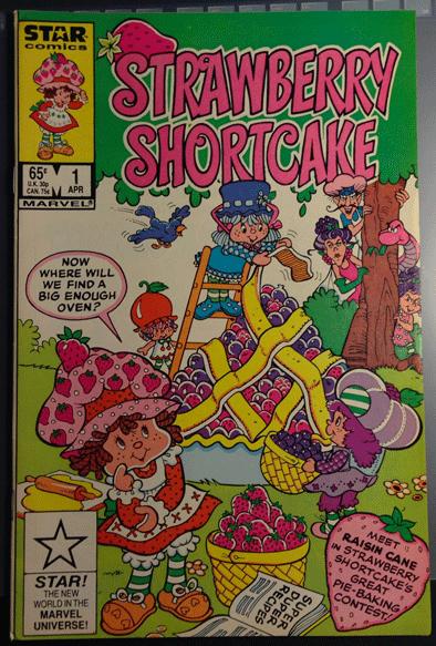 Strawberry Shortcake, Vol. 1, No. 1, April 1985, Marvel Comics Group, Stan Kay