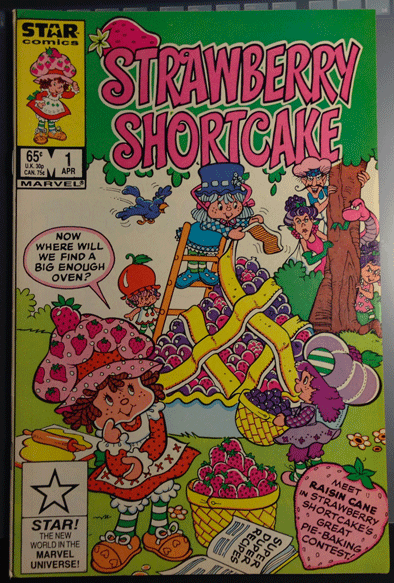 Strawberry Shortcake, Vol. 1, No. 1, April 1985, Marvel Comics Group, Stan Kay