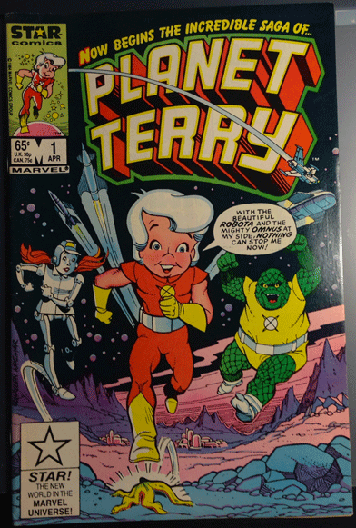 Planet Terry, Vol.1, No. 1, April 1985, Marvel Comics Group, Lennie Herman,
