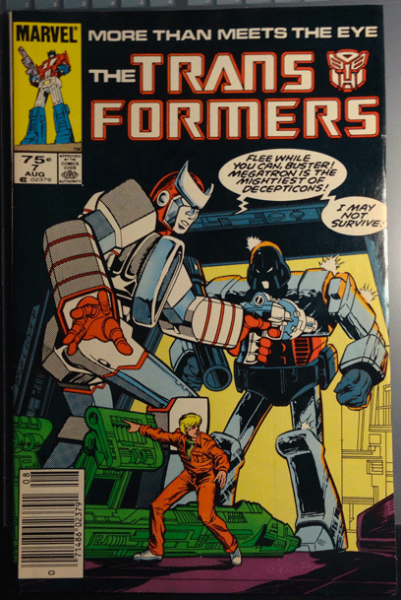 The Transformers, Vol. 1, No 7, August 1985, Marvel Comics Group, Bob Budiansky,