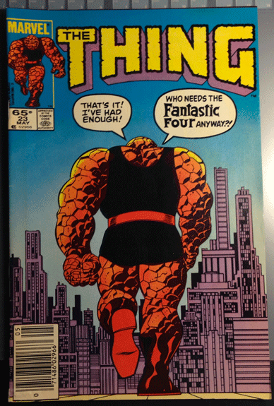 The Thing, Vol. 1, No. 23, May 1985, Marvel Comics Group, Mike Carlin