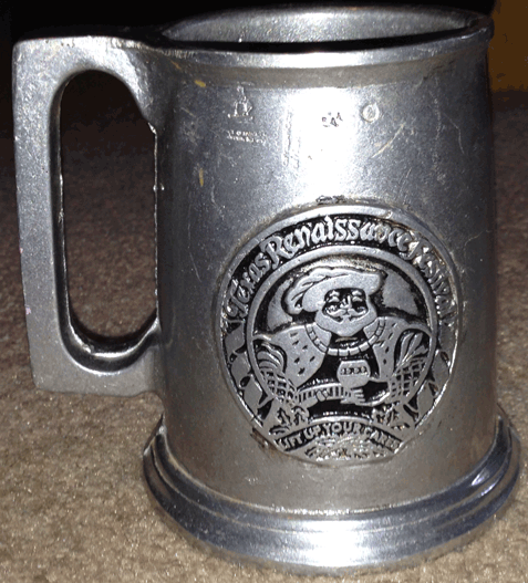 Texas, Renaissance Festival, Pewter Mug, Medieval,